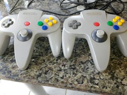 Controle n64 com análogico estilo gamecube.