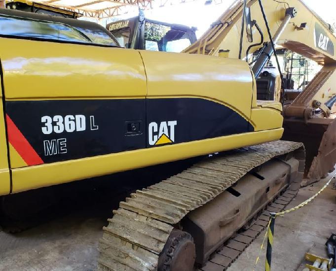 Escavadeira caterpillar 336 d ano 2010 equipamento com 24.4