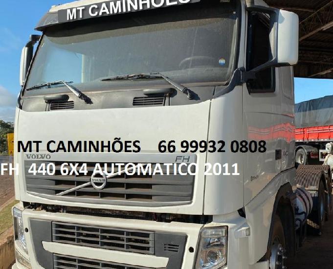 Fh 440 6x4 automatico teto baixo 2011! não pega troca