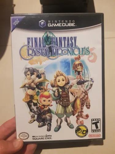 Final fantasy chystal chronicles nintendo gamecube raro novo