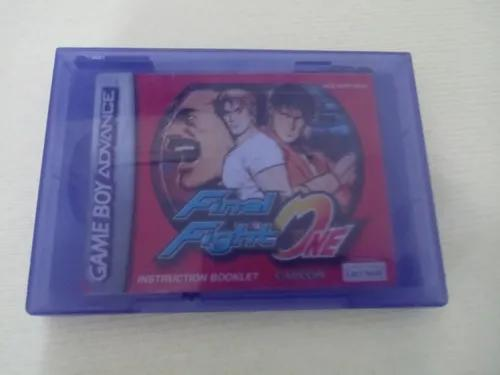 Final fight one game boy advance com case de game cube
