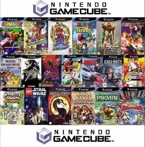 Jogos de gamecube para wii + de 500 games +destrave