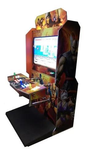 Máquina 43 arcade 8500 jogos 4 player st fighter5 tek7