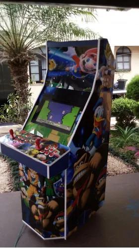 Máquina multijogos arcade 21sist 5000 jogos 20 fr grátis