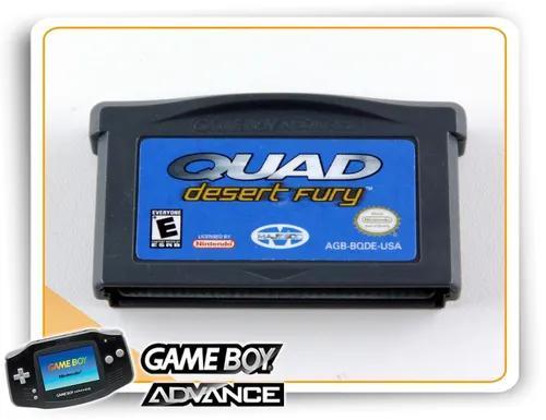 Quad desert fury gba original game boy advance