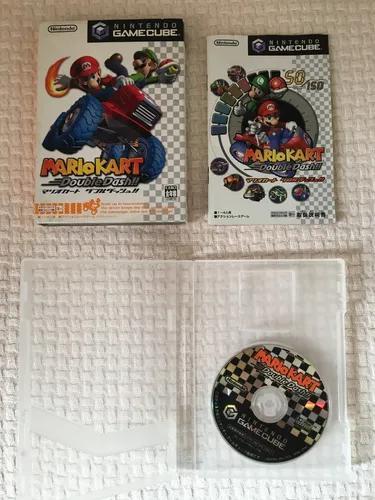 Sakura games - mario kart - gamecube japonês