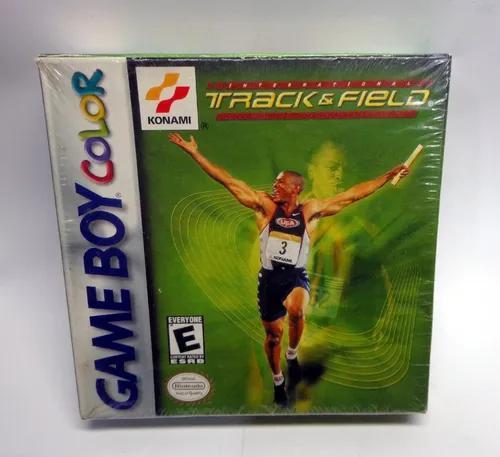Track & field - completo original game boy color e advance