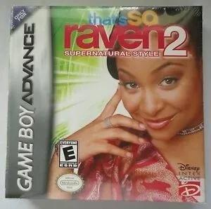 Usado:that's so raven supernatural style 2 game boy advanced