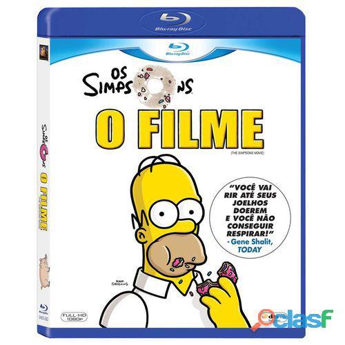 Blu ray os simpsons, o filme   produto original   não é copia pirata! não é produto digital!