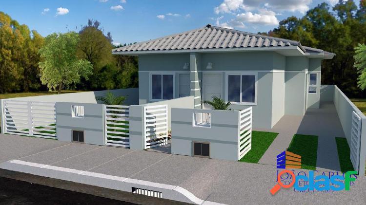 Casa geminada em obras. financiamento mcmv. entrada parcelada.