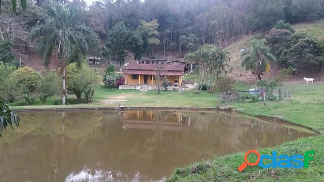 Sítio de 48.000 m² à venda em são josé dos campos com pasto e casa sede