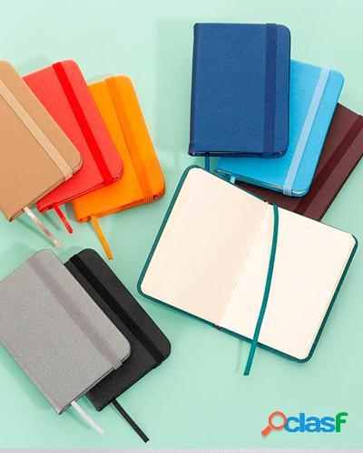 Mini caderneta para anotações personalizada