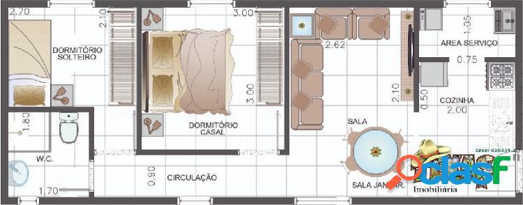APARTAMENTO STUDIO ARTUR ALVIM 1