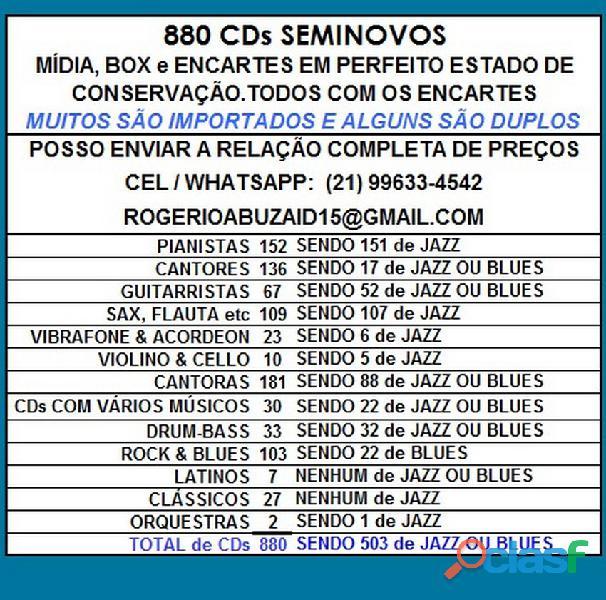 81 CDs de ROCK SEMINOVOS COM ENCARTE 5