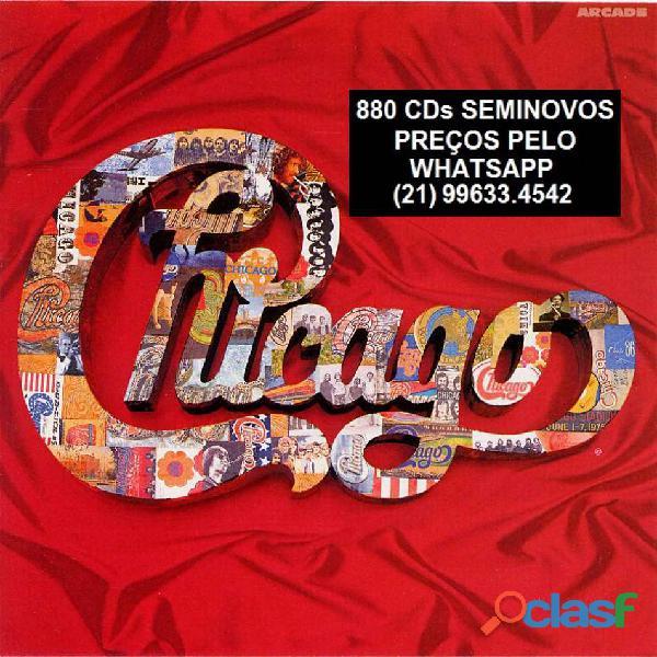 81 CDs de ROCK SEMINOVOS COM ENCARTE 12