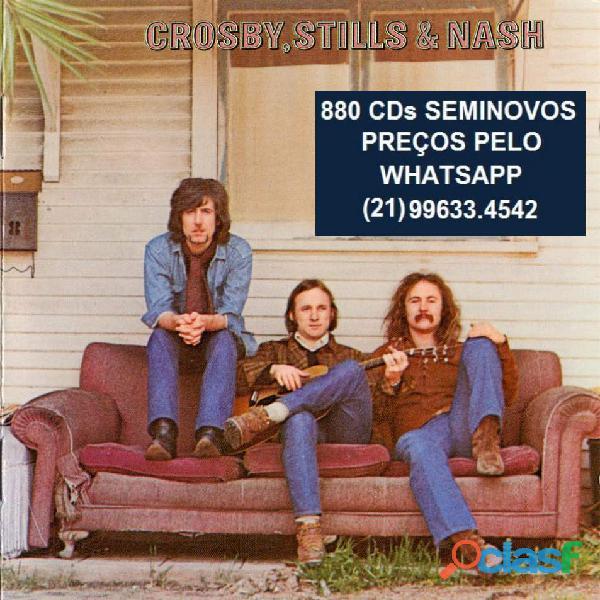 81 CDs de ROCK SEMINOVOS COM ENCARTE 13