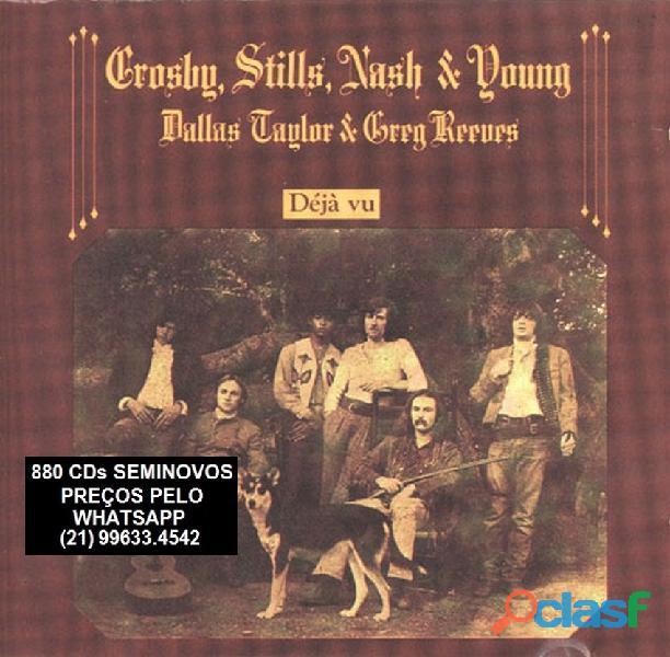81 CDs de ROCK SEMINOVOS COM ENCARTE 14