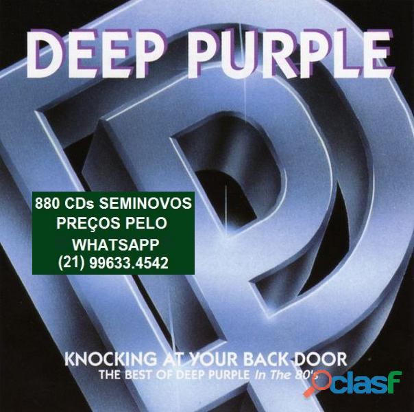 81 CDs de ROCK SEMINOVOS COM ENCARTE 15