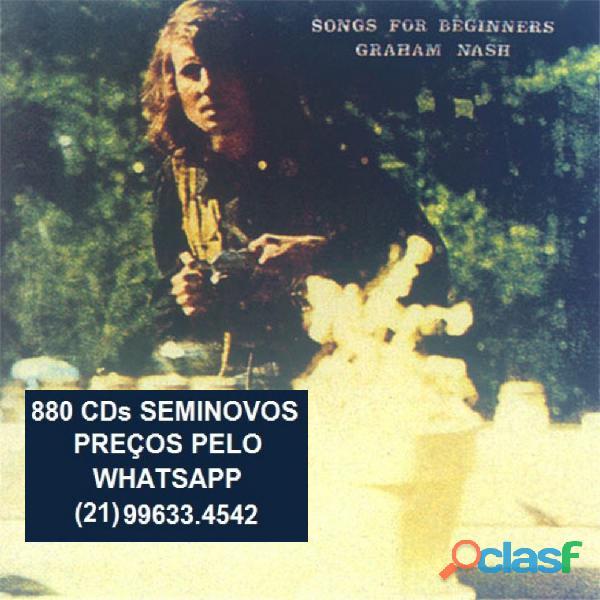 81 CDs de ROCK SEMINOVOS COM ENCARTE 17