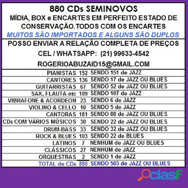 81 CDs de ROCK SEMINOVOS COM ENCARTE 19