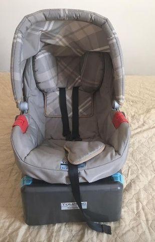 Bebê conforto com base para carro - burigotto