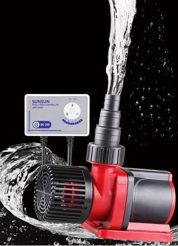 Bomba submersa eletrônica sunsun 6000l/h- jdp-6000 - bivolt