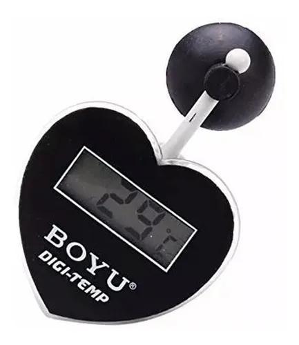 Boyu termômetro digital para aquários bt-08 coração full