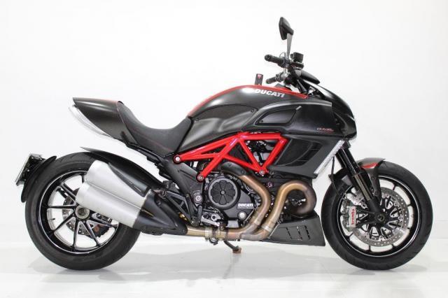 Ducati diavel carbon abs 2013- ipva e dpvat pagos!!!