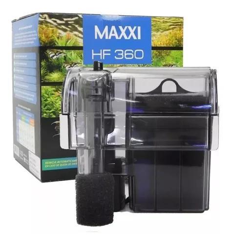 Filtro externo maxxi hf-360 360l/h para aquários de até