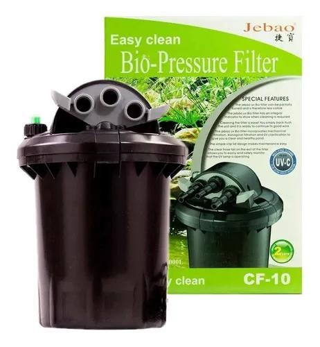 Jebao filtro pressurizado para lagos cf-10 uv 9w até 4.000l