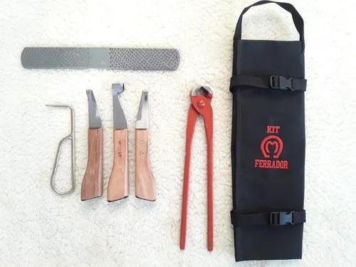 Kit ferrador grosa, torques 12, jogo de rinetes e bolsa