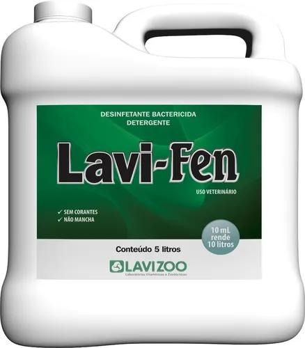 Lavi-fen gl 5 lts - (desinfetante p/ canis e doméstico)