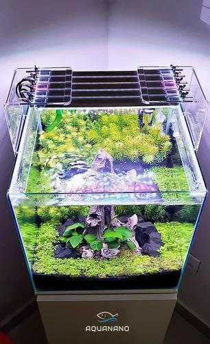 Luminaria completa p/ aquario plantado 50 cm personalizada 5