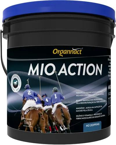 Mio action 1 kg cavalo organnact 1kg equino pet shop store