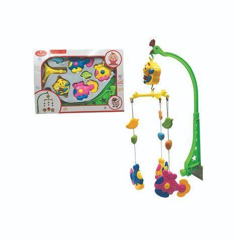 Mobile musical giratório para berço / brinquedo para