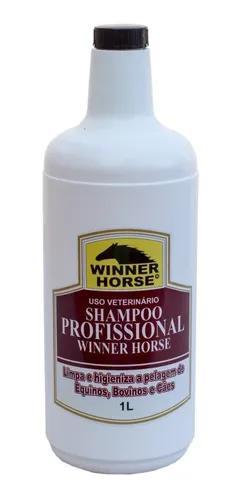 Shampoo profissional 1 lt - winner horse