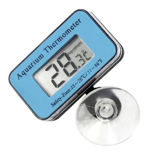 Termômetro digital à prova d' água aquário - com bateria
