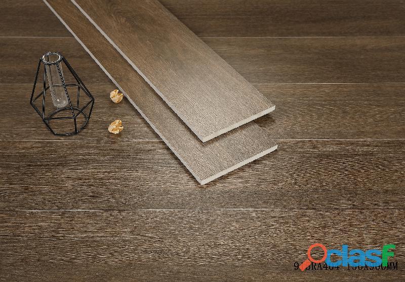 Piso cerâmico imitando madeira importado p/ consumidor final