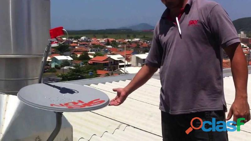 Técnico antenista bh / instalador de antenas   sky   claro tv /antenista santa luzia