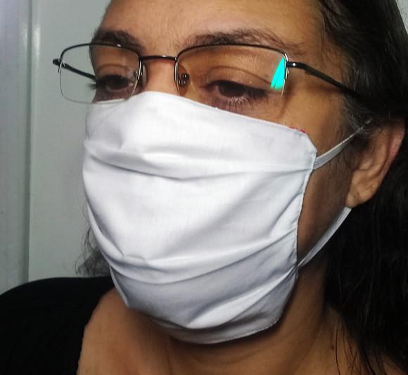 12 máscaras de tecido reutilizáveis