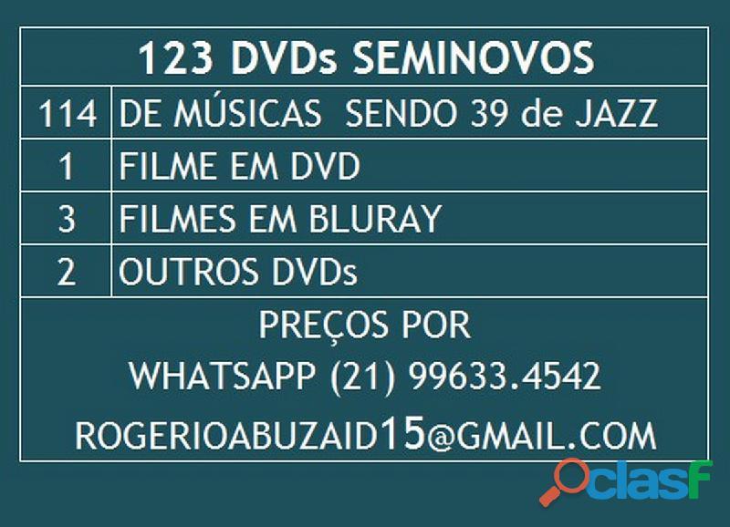 39 dvds de jazz