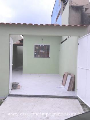 Campo grande - vila jardim - casa linear nova 2 quartos/1