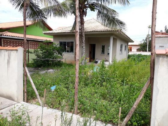 Casa em acabamento a venda em praia seca - araruama (rj)