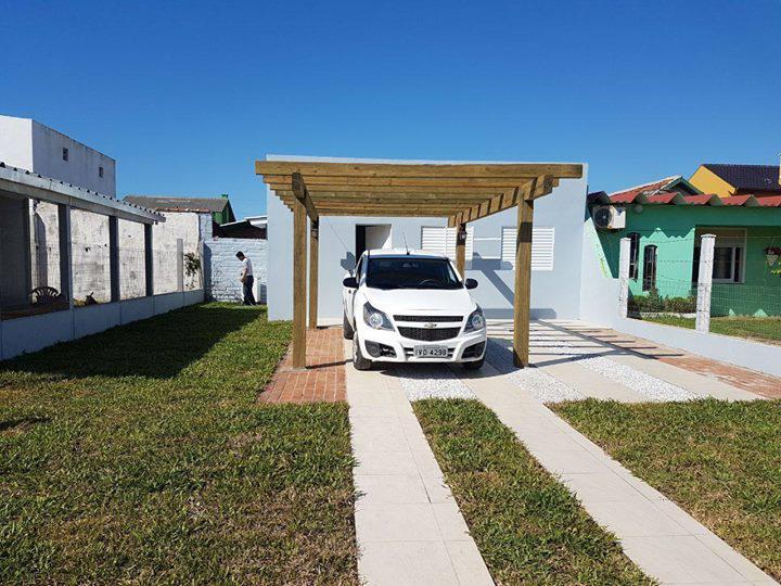 Casa nova em santa terezinha - imbé, 70 metros do mar,