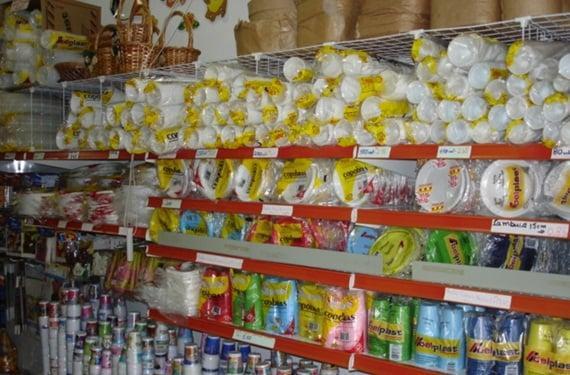 Distribuidora e loja de produtos descartáveis e artigos