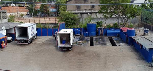 Excelente lava rápido de veículos pesados em taboão da