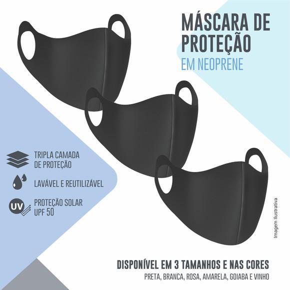 Kit 03 máscaras de proteção ninja em neoprene