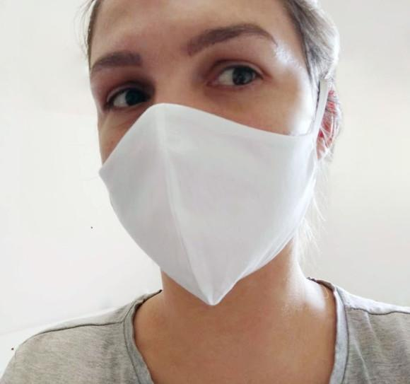 Kit 3 Máscaras em tecido Lavável (tripla proteção)