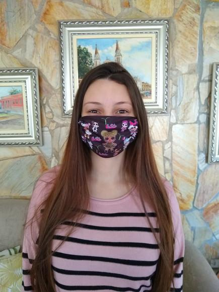 Máscara de proteção pode pedir 1 de cada modelo