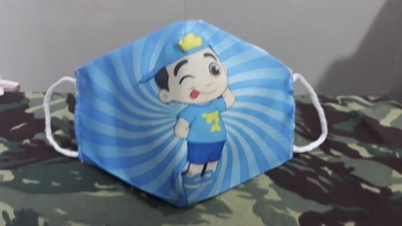 Máscara proteção infantil lucas neto